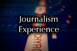 Journalism Experience